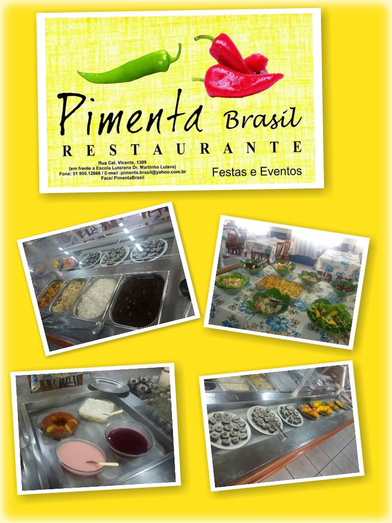 Restaurante Pimenta Brasil.