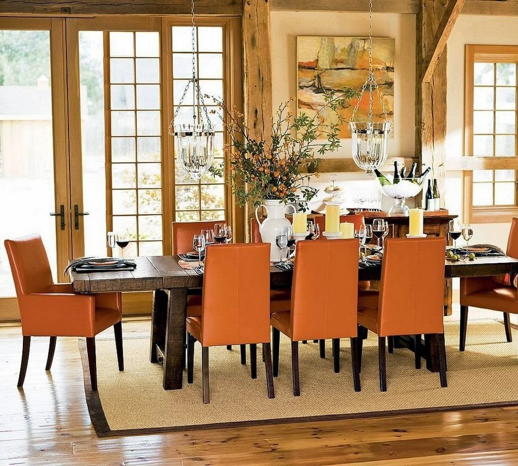 Decorating Ideas for Small Dining Room Walls