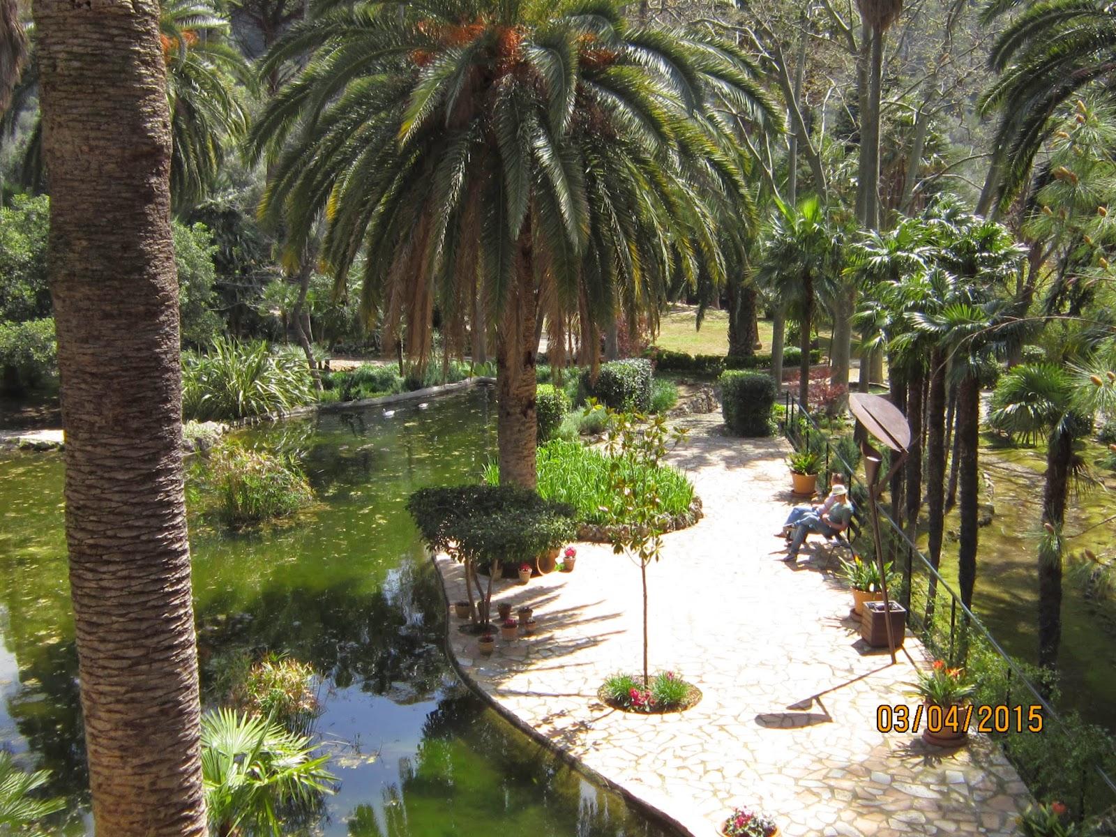 El blog de la loles independiente 2 jardines de alfabia for Jardines alfabia