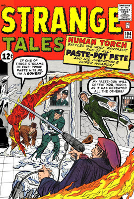Strange Tales #104, the Human Torch v Paste Pot Pete