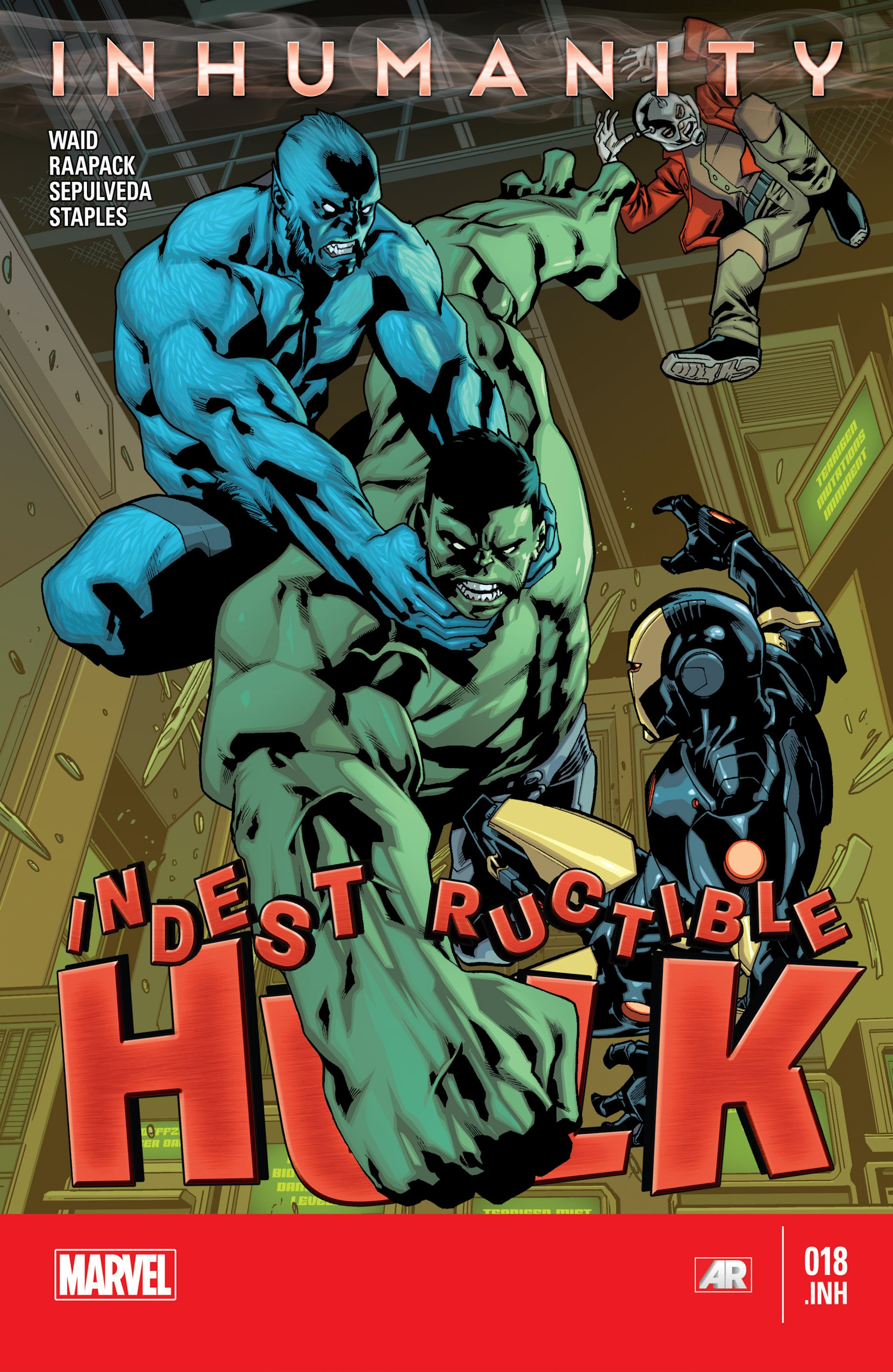 Indestructible Hulk issue 18 - Page 1