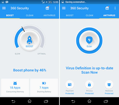 Download 360 Security v3.3.3 Apk Full Version