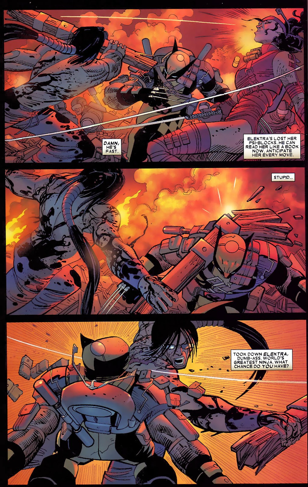 Read online Wolverine (2003) comic -  Issue #30 - 17