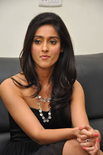 Ileana looks stunning in Black Gown