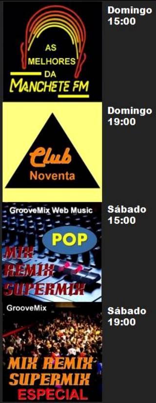 Programas GrooveMix