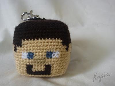 amigurumi crochet Mine Craft szydełkowy