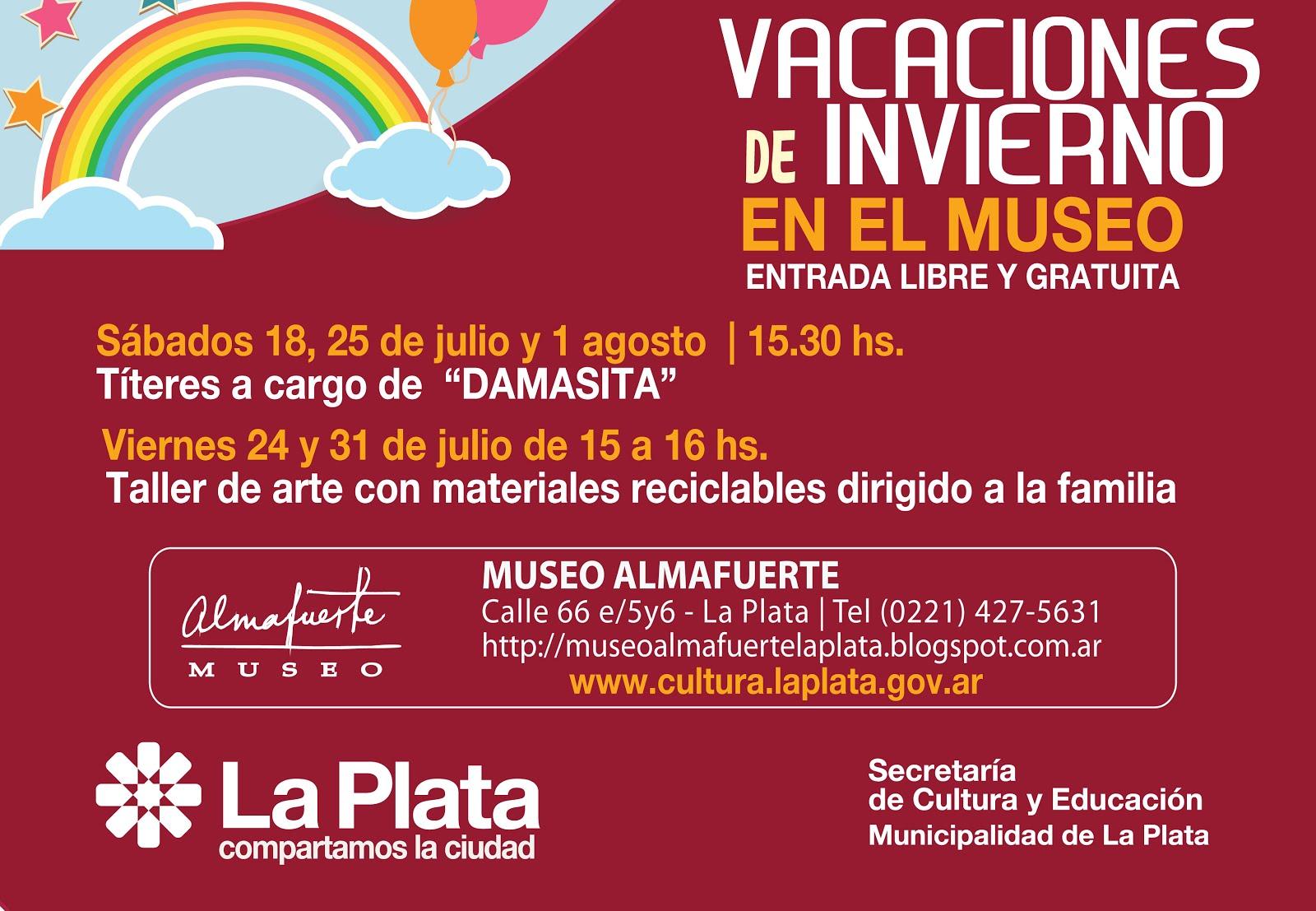 VACACIONES EN EL MUSEO ALMAFUERTE