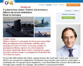 Vende-se 2 submarinos classe Trident