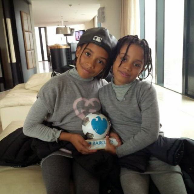 Samuel Eto'o Shows Off His Adorable Daughters