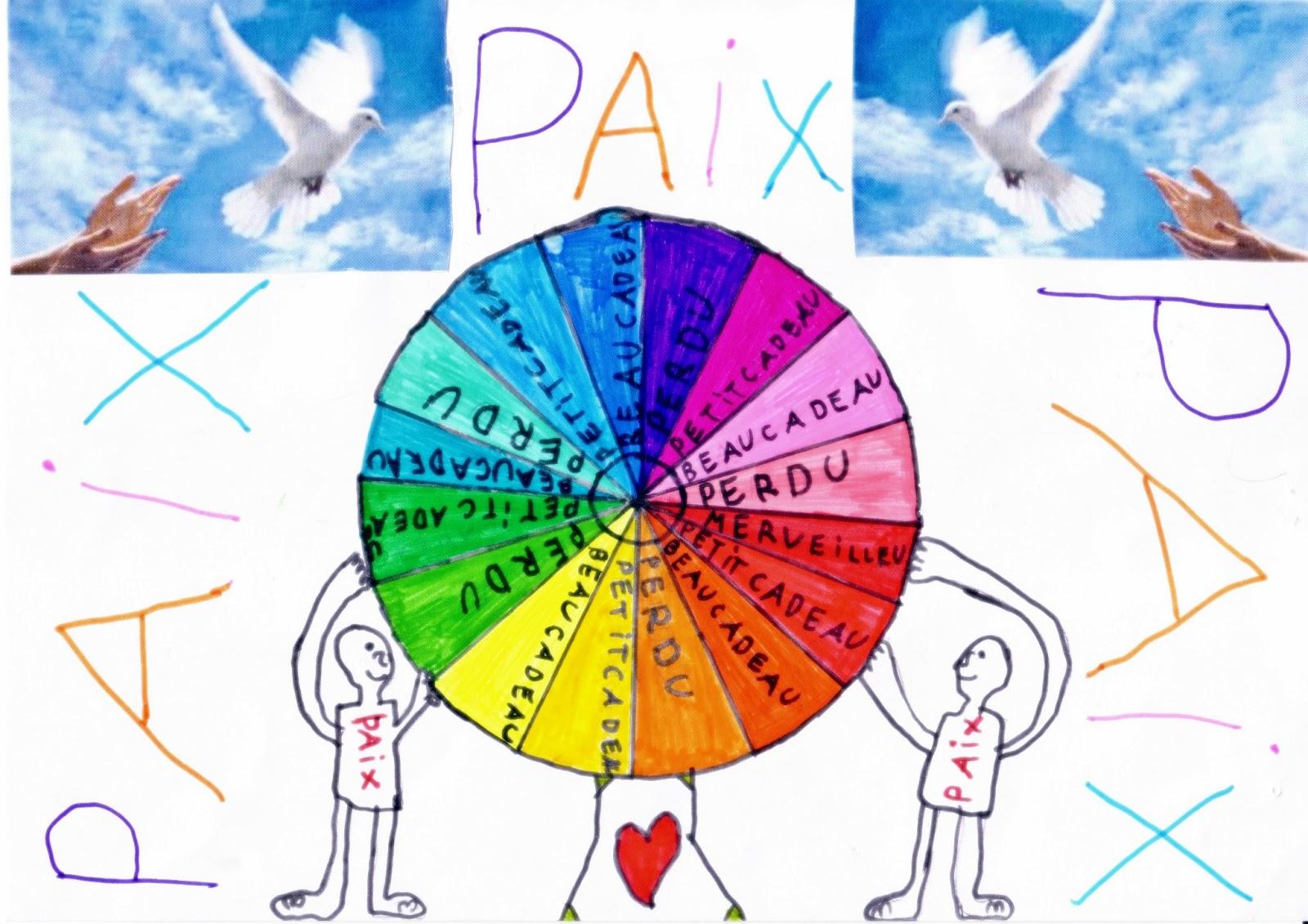 Rotary club de langres concours de dessins sur le theme de la paix dans le monde - Dessin sur la paix ...