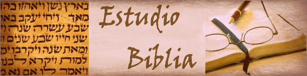 Estudio Biblia