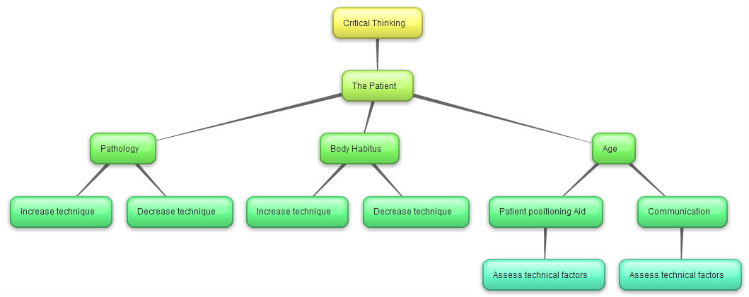Critical Thinking Concept Map