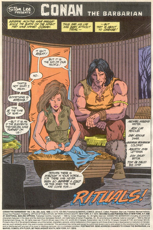 Conan the Barbarian (1970) Issue #233 #245 - English 2