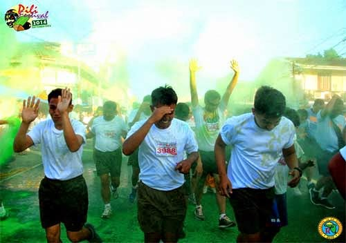 Pili Festival 2014: Sorsogon City Color Run With The Beat Photo: Padabaon Ta An Sorsogon