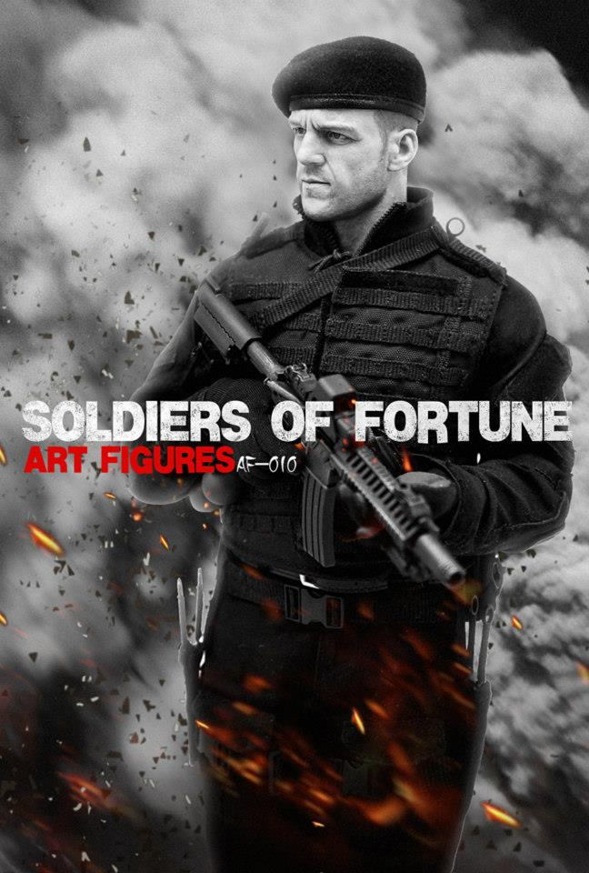 1/6 Soldier of Fortune by Art-Figures (Expendables Lee Christmas)