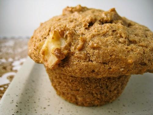 receta para hacer muffin de guineo