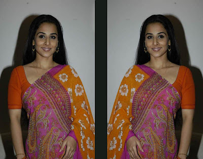 Bollywood Actress Vidyabalan Saree Photos