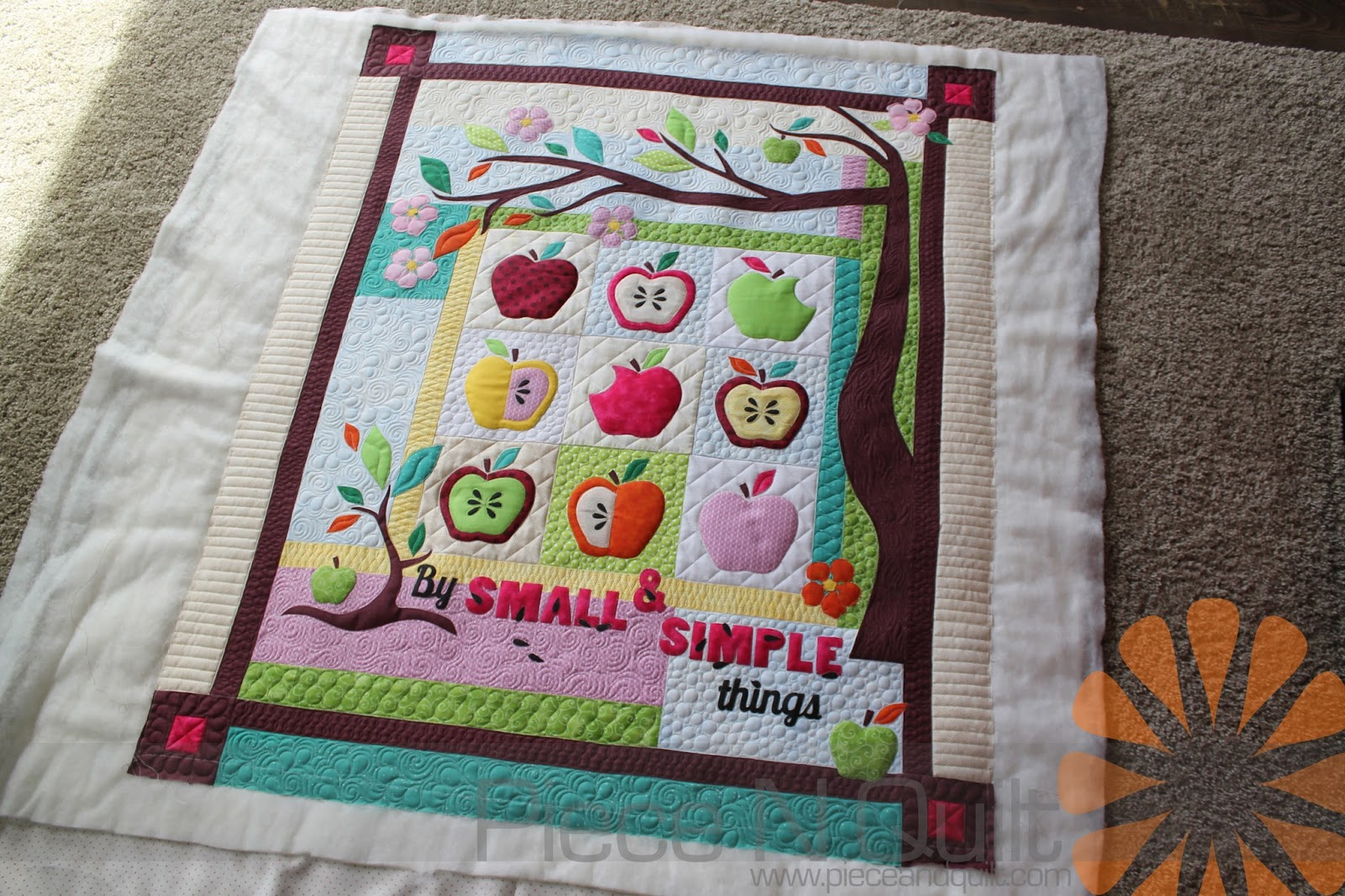 Piece n quilt: by small & simple things custom machine quilting by