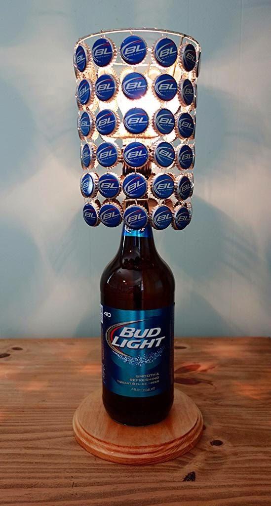 Lamparas con tapas y botellas Manualidades ingeniosas