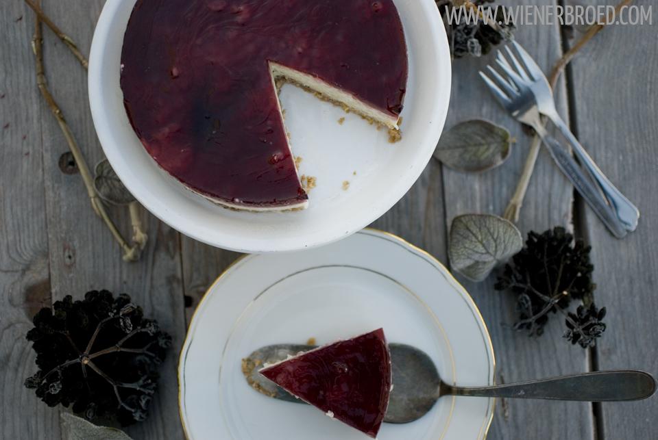 Ris á l'amande-Kuchen / Ris a l'amande cake [wienerbroed.com]