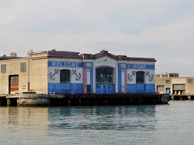 Pier 31 San Francisco - Welcome Home Mural