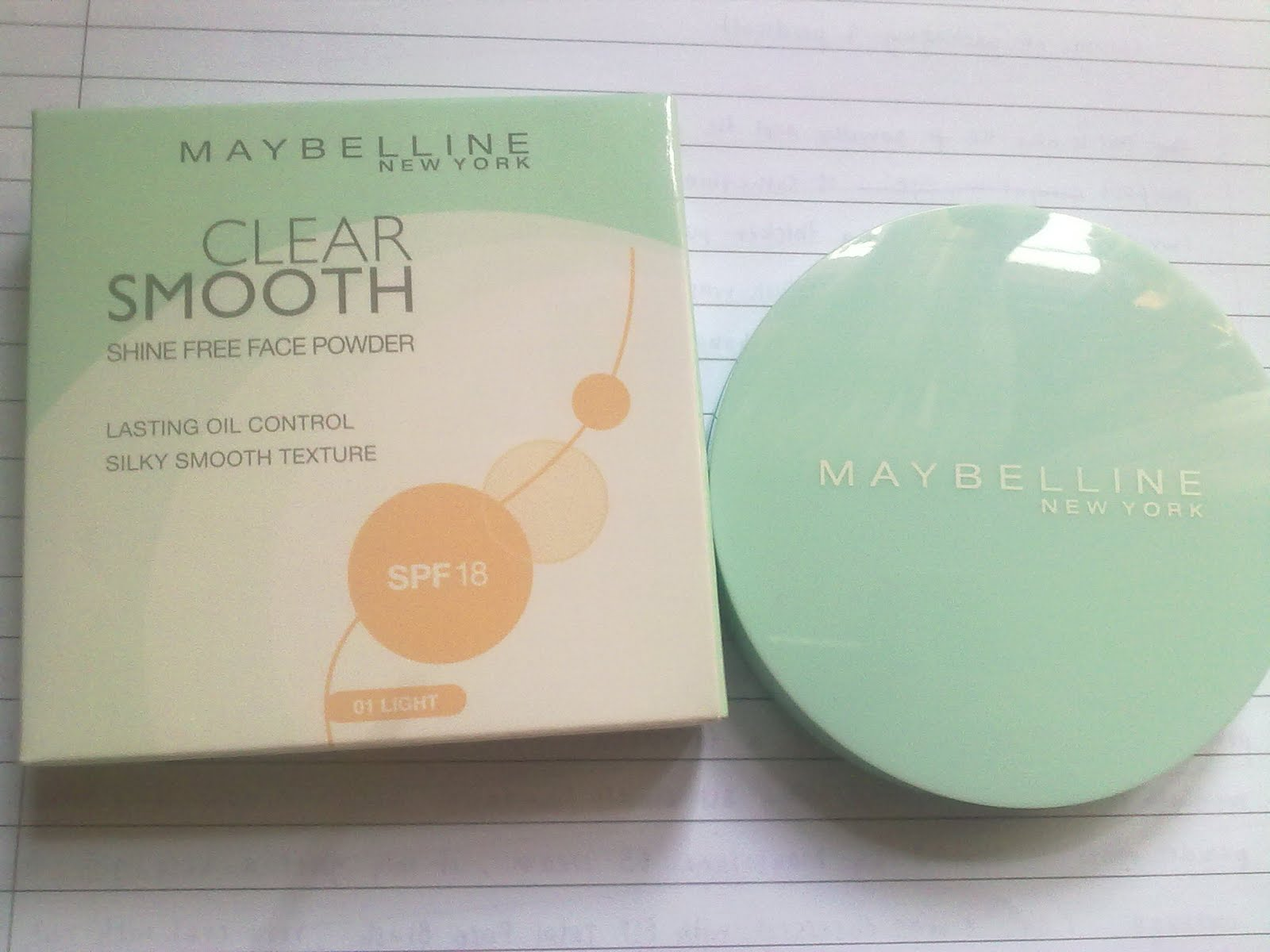 La Mademoiselle: Review: Maybelline Clear Smooth Shine Free Face ...