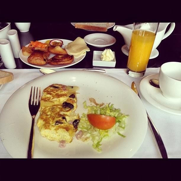 the vine madeira breakfast