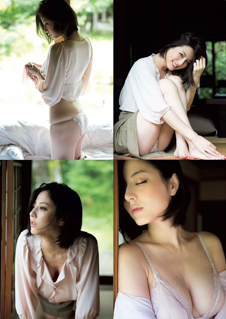 Sugimoto Yumi 杉本有美 Weekly Playboy October 2015 Pics 3