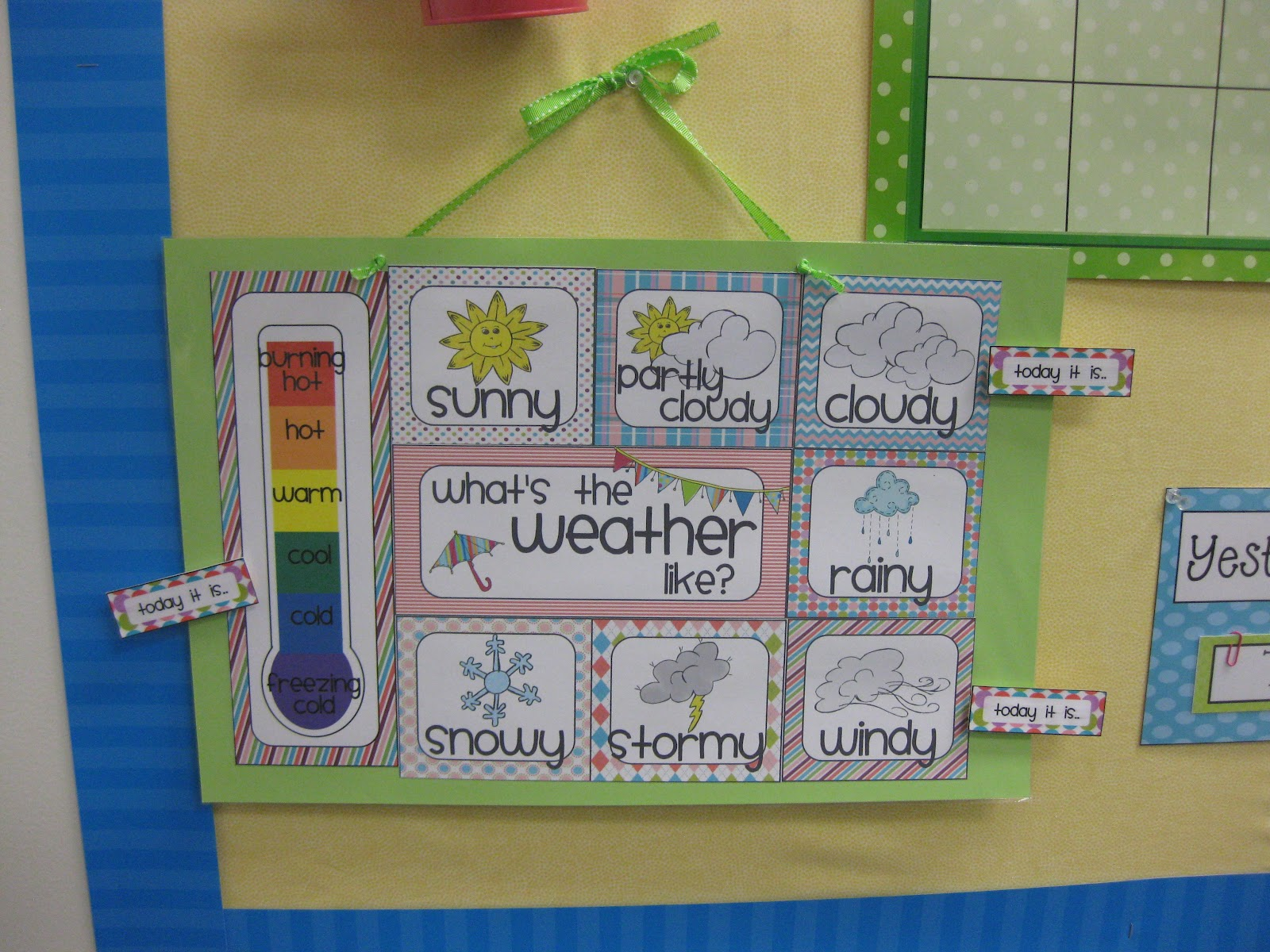 Classroom Board Ideas For Kindergarten ~ Some classroom photos miss kindergarten