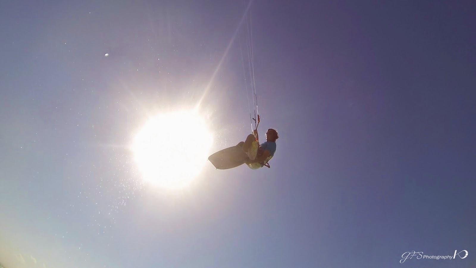 Kitesurf, kiteboarding, jump, Murrebue, Mozambique