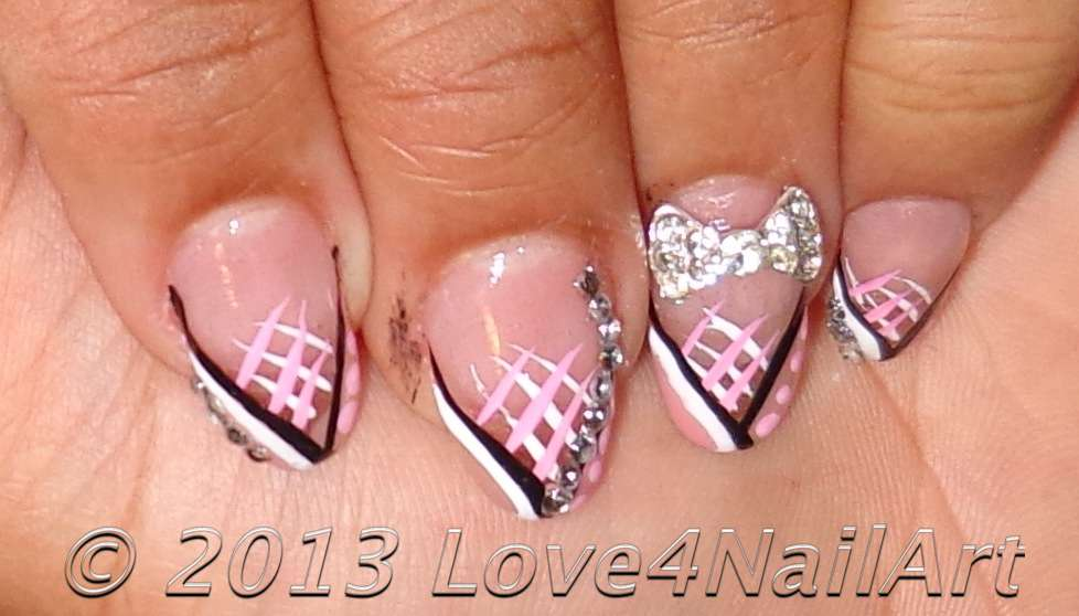 Love4NailArt: Elegant Graduation Nails (Oval Shaped Acrylic)