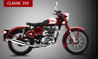 The smaller twin of the Classic 500, the Classic 350 will hold its own against any other motorcycle and then pull some more. The Classic 350 shares its powerplant with the Legendary Thunderbird. The torque to flatten mountains and the fuel efficiency to cross entire ranges comes in the same understated yet charming styling