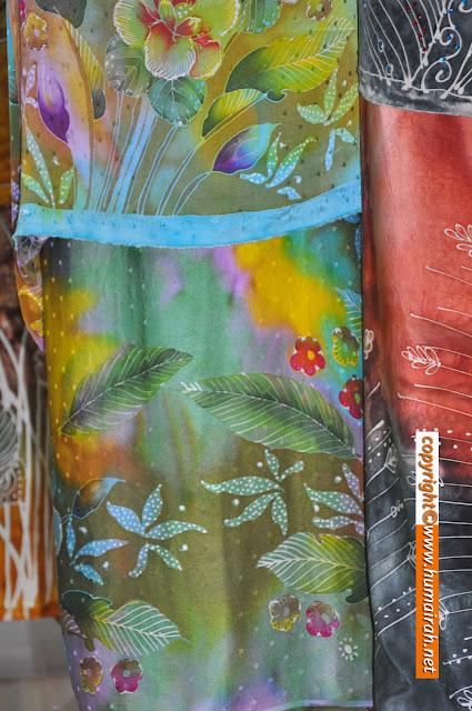 Bunga Lalang, Ombak Rindu Abstrak Exclusive - BATIK SUTERA 11