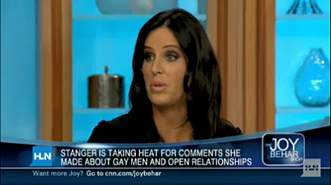 ... Twitter and explained that she wasn't ragging on all gays, just LA gays.