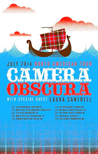 Camera Obscura @ The Opera House, Tuesday