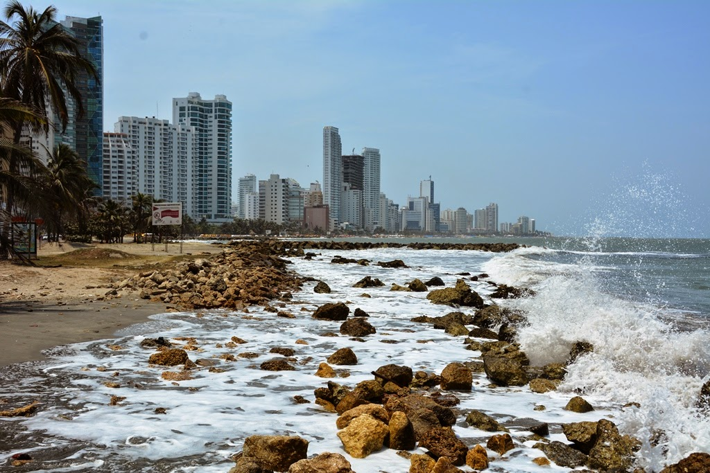 Bocagrande Beach Cartagena