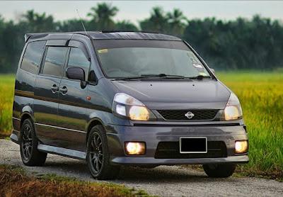 Foto Modifikasi Eksterior Nissan Serena C24