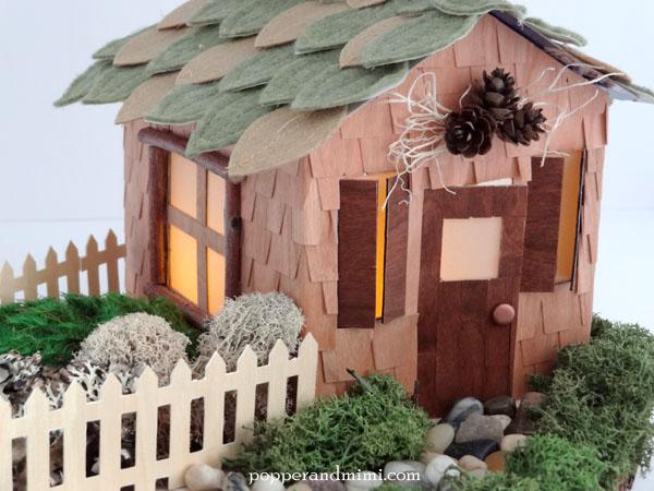 DIY Rustic Woodland Party Decor Centerpiece   popperandmimi.com