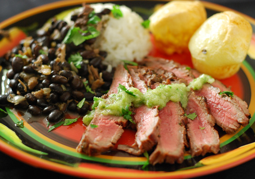 Brazilian marinated flank steak with chile lime sauce forumfinder