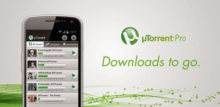 µTorrent® Pro  v2.0.5 Apk FREE DOWNLOAD