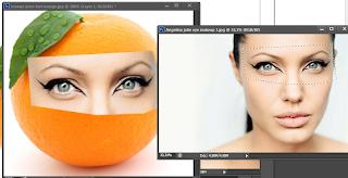 Cara memberikan wajah pada buah Jeruk