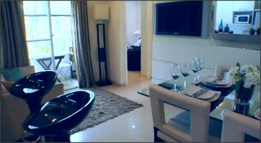 Mrv apartamento decorado em suzano sp quarto casal tattoo for Apartamentos decorados pequenos