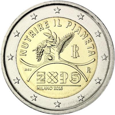 2 euro Italy 2015