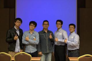 twMVC 第八場 ASP.NET Web API 課程,講師與工作人員合照