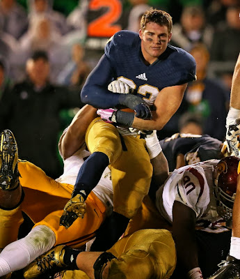 Sorry, girls. Charismatic Notre Dame running back Cam McDaniel is engaged.