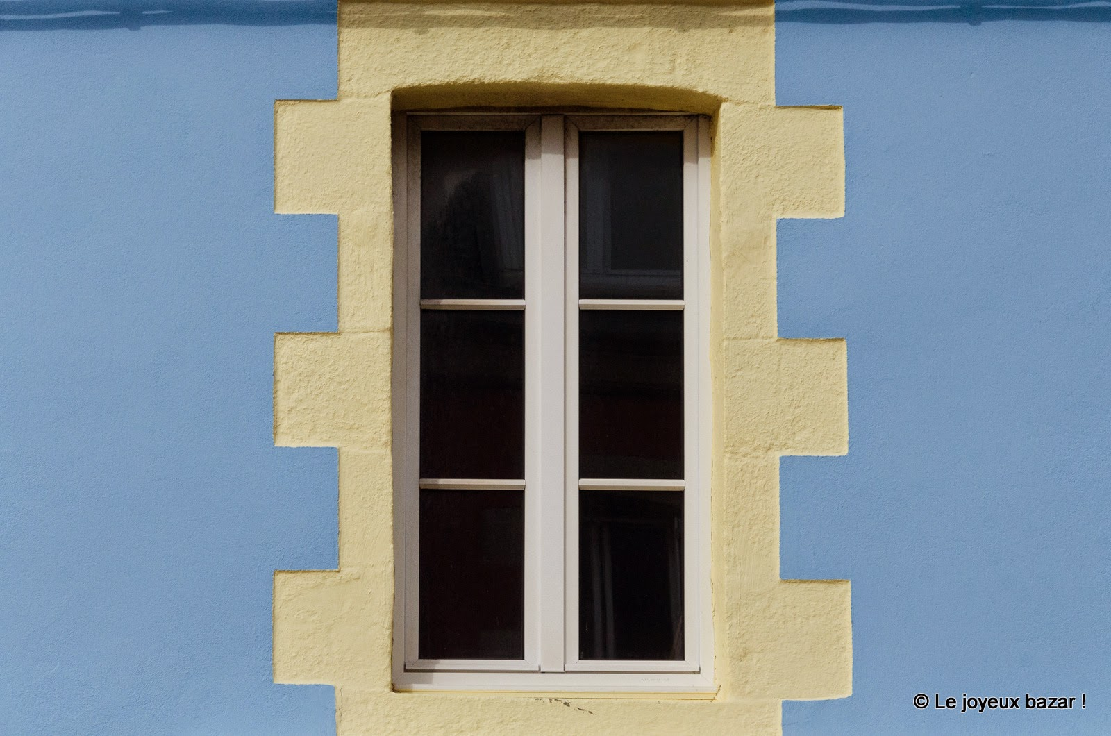 Bretagne - Saint Guénolé - fenêtre