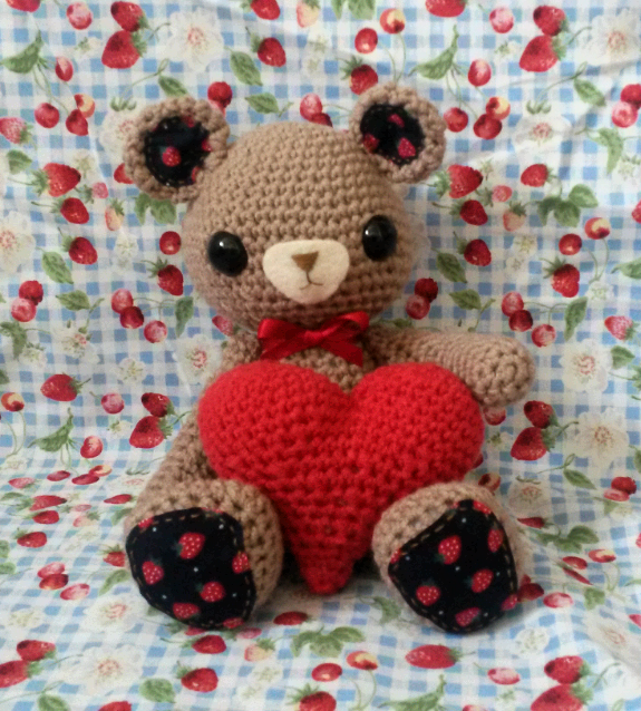 Amigurumi Big Heart : Amigurumi Barmy: My patterns