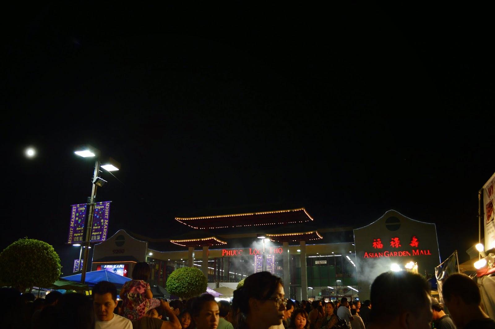 2014 Asian Garden Mall Night Market Westminster Phuoc