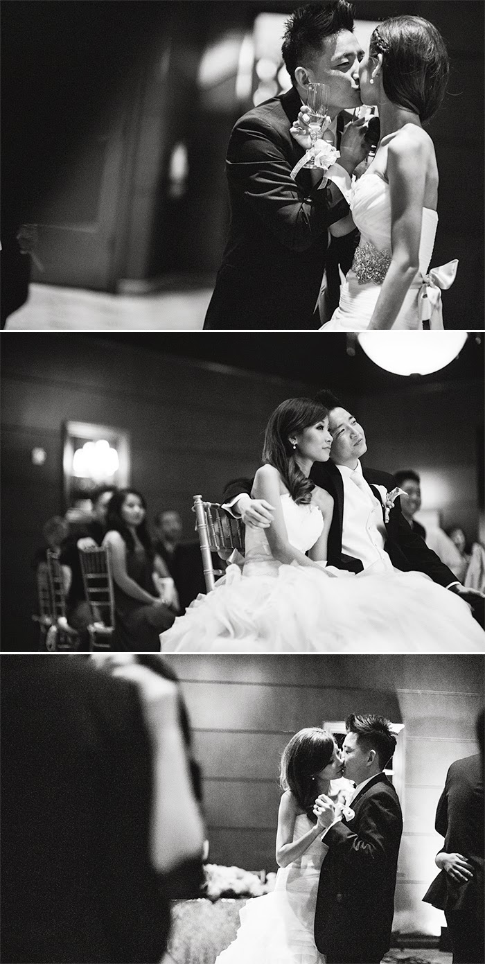 timeless black and white wedding photography