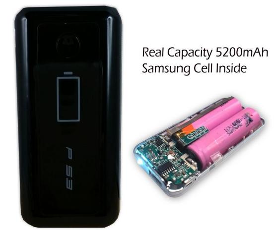Harga & Spesifikasi Delcell Power Bank P53 5200mAh Samsung Cell